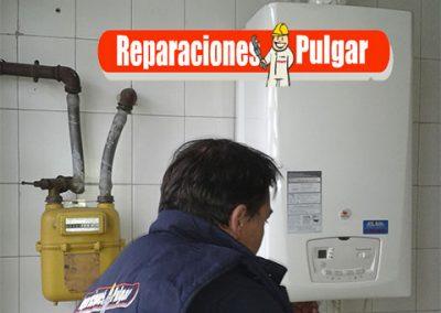 Instalaciones nuevas de agua sanitaria, calefacción, desagües,colocación de grifos/duchas, colocación de radiadores…